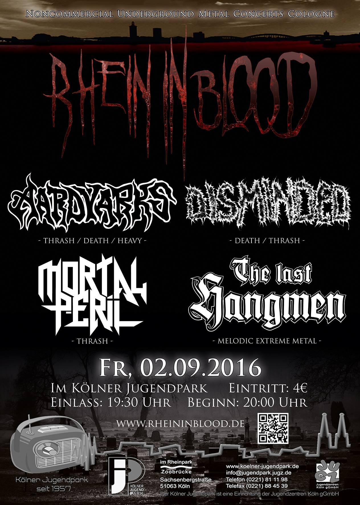 RHEIN IN BLOOD
