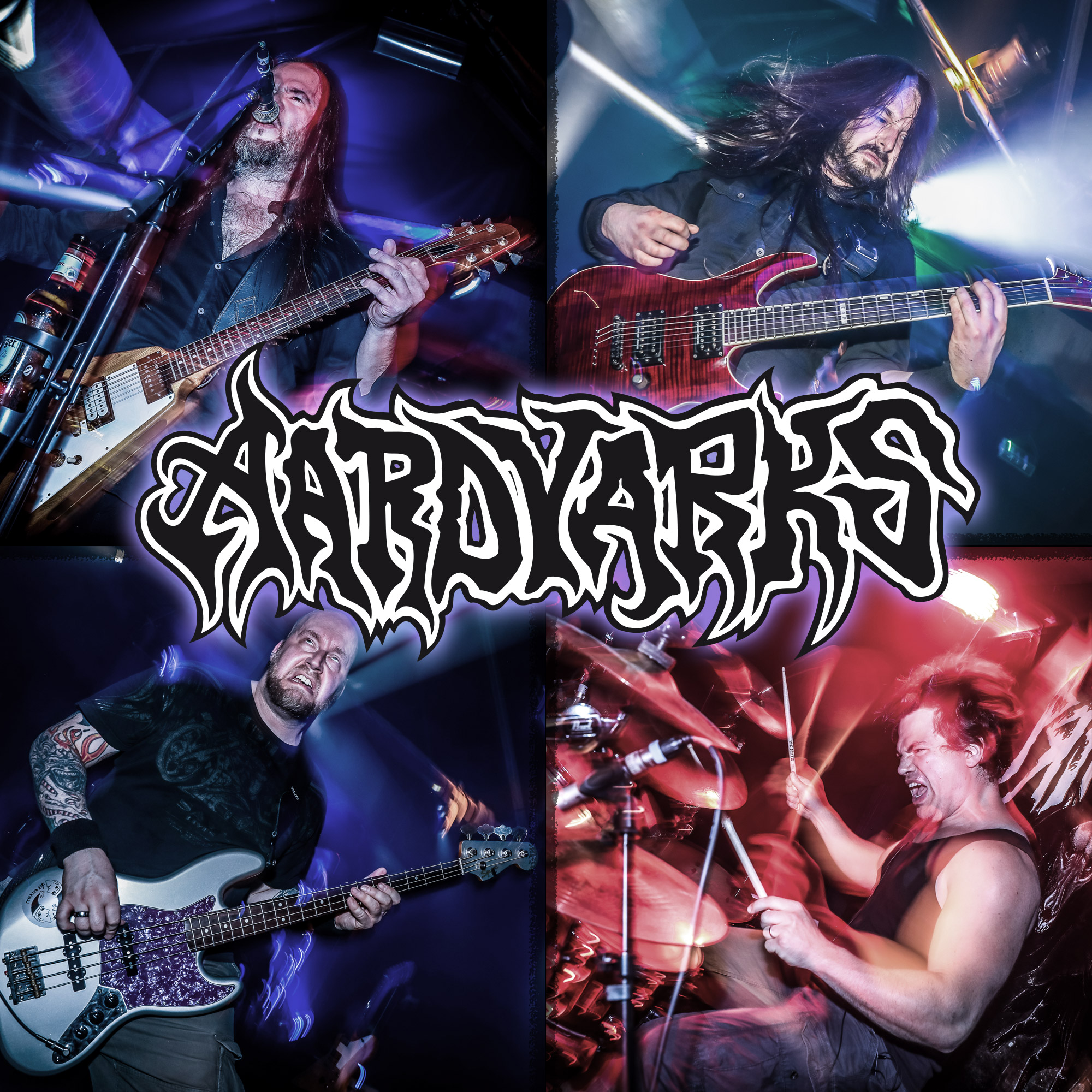AARDVARKS Band 2018 by monsterpics.de